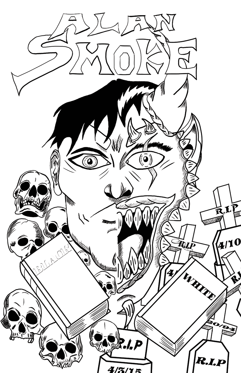Alan Smoke web comic cover