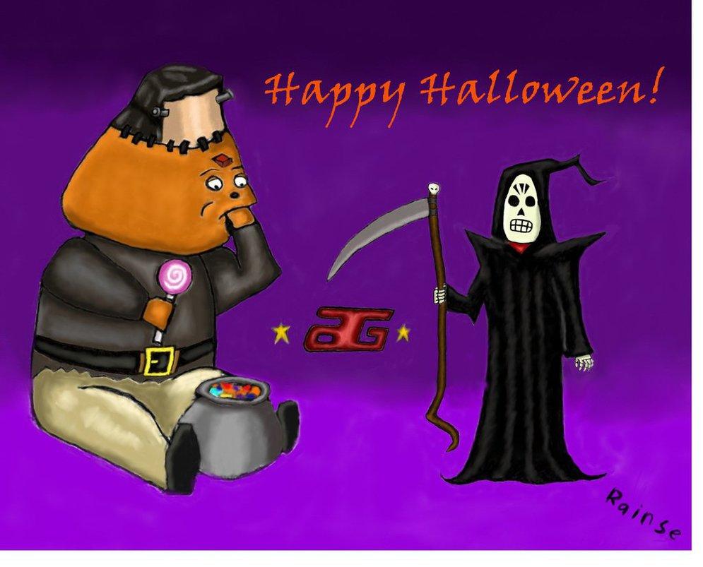 Grim Fandango Halloween