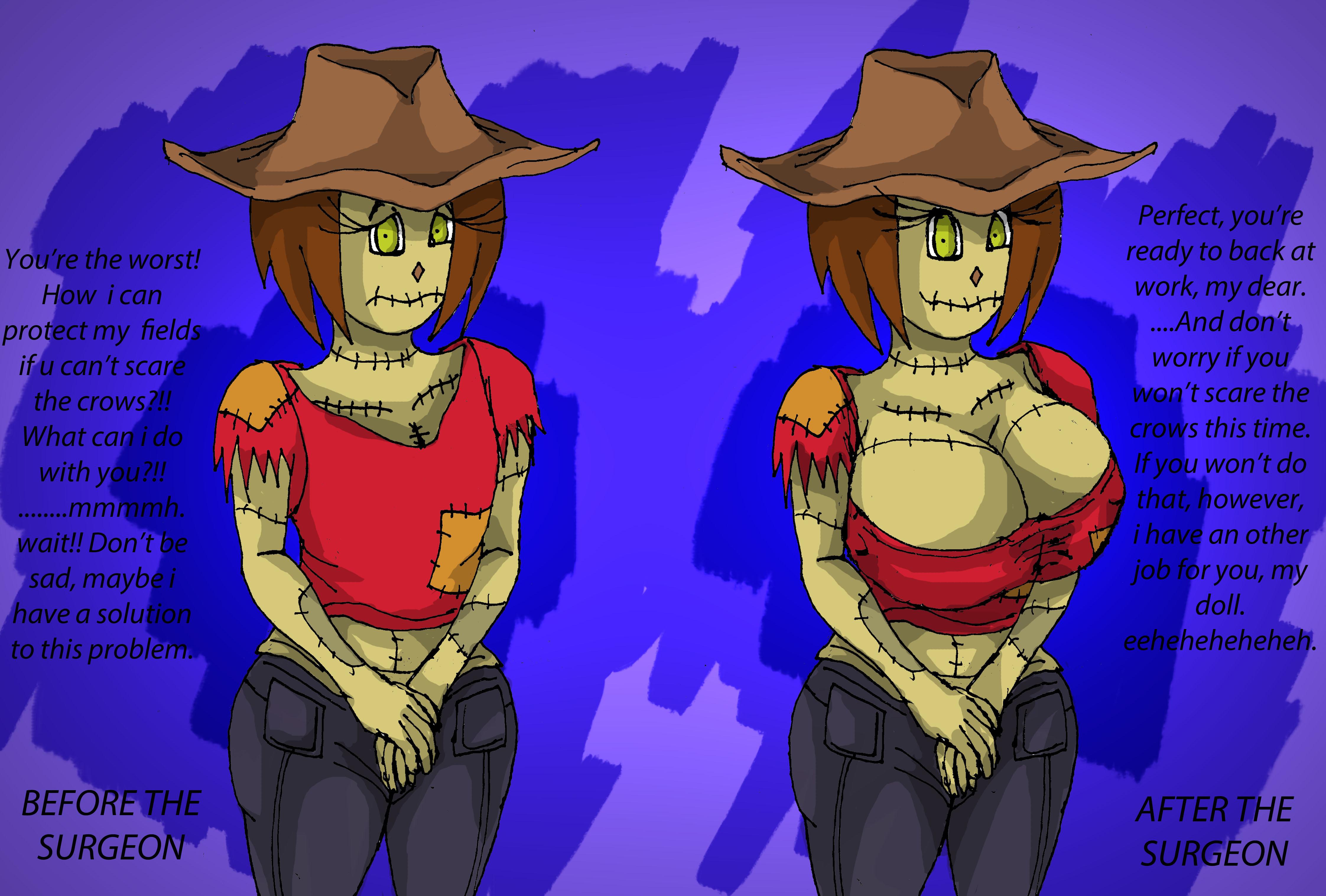 My dear scarecrow
