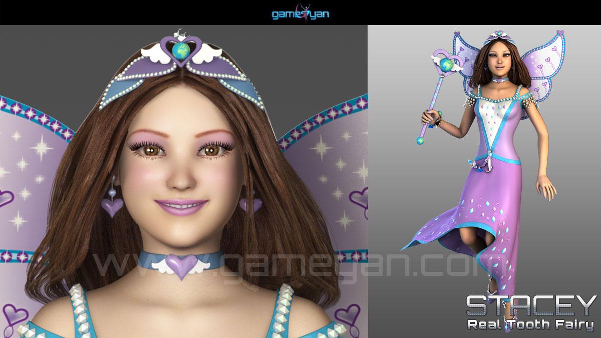 Fairy Character Animation