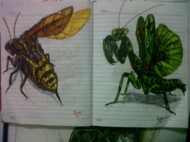 bionic bugs