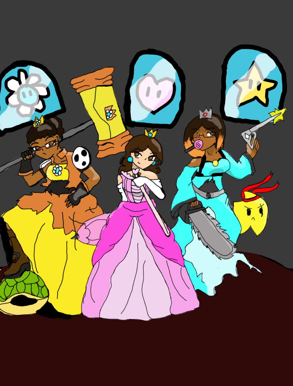 Badass princesses of Pistache