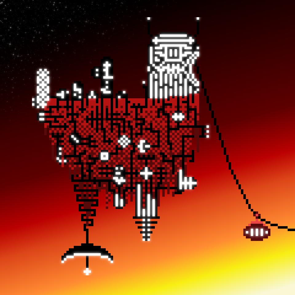 Alien Floating Island