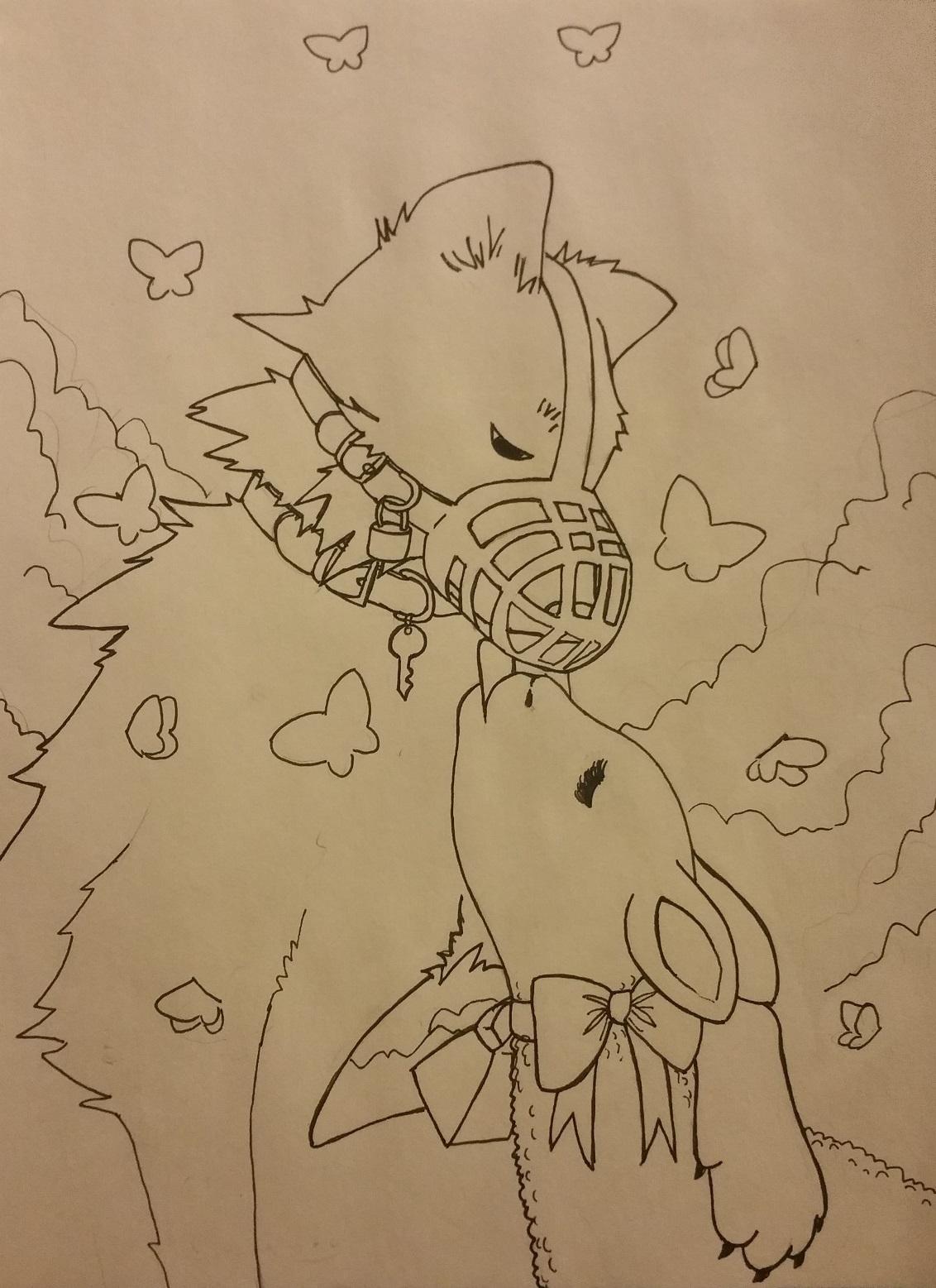 Muzzled Wolf