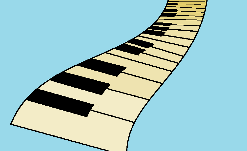 The Flowing Piano
