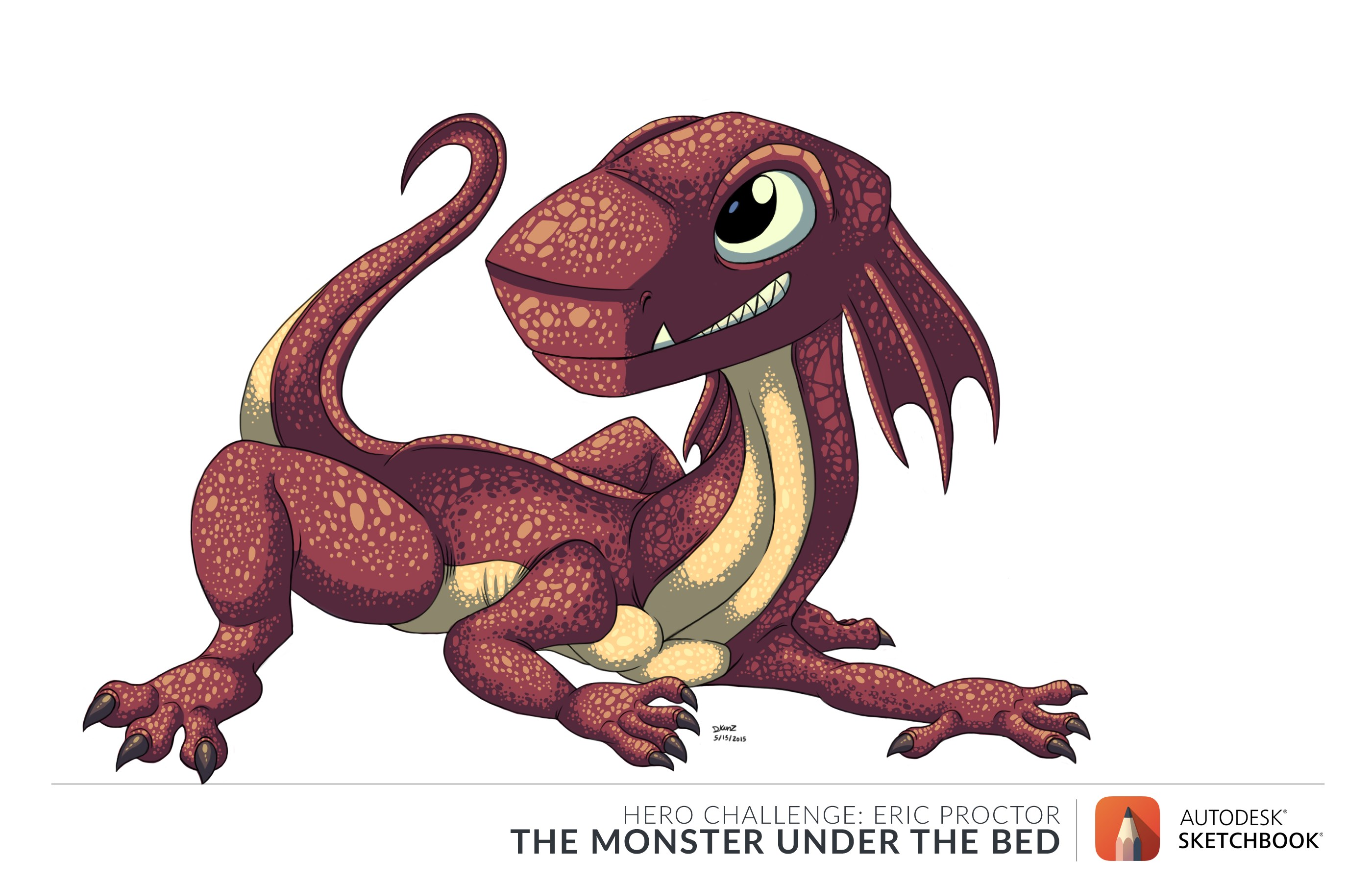 Frillo The Monster under the bed