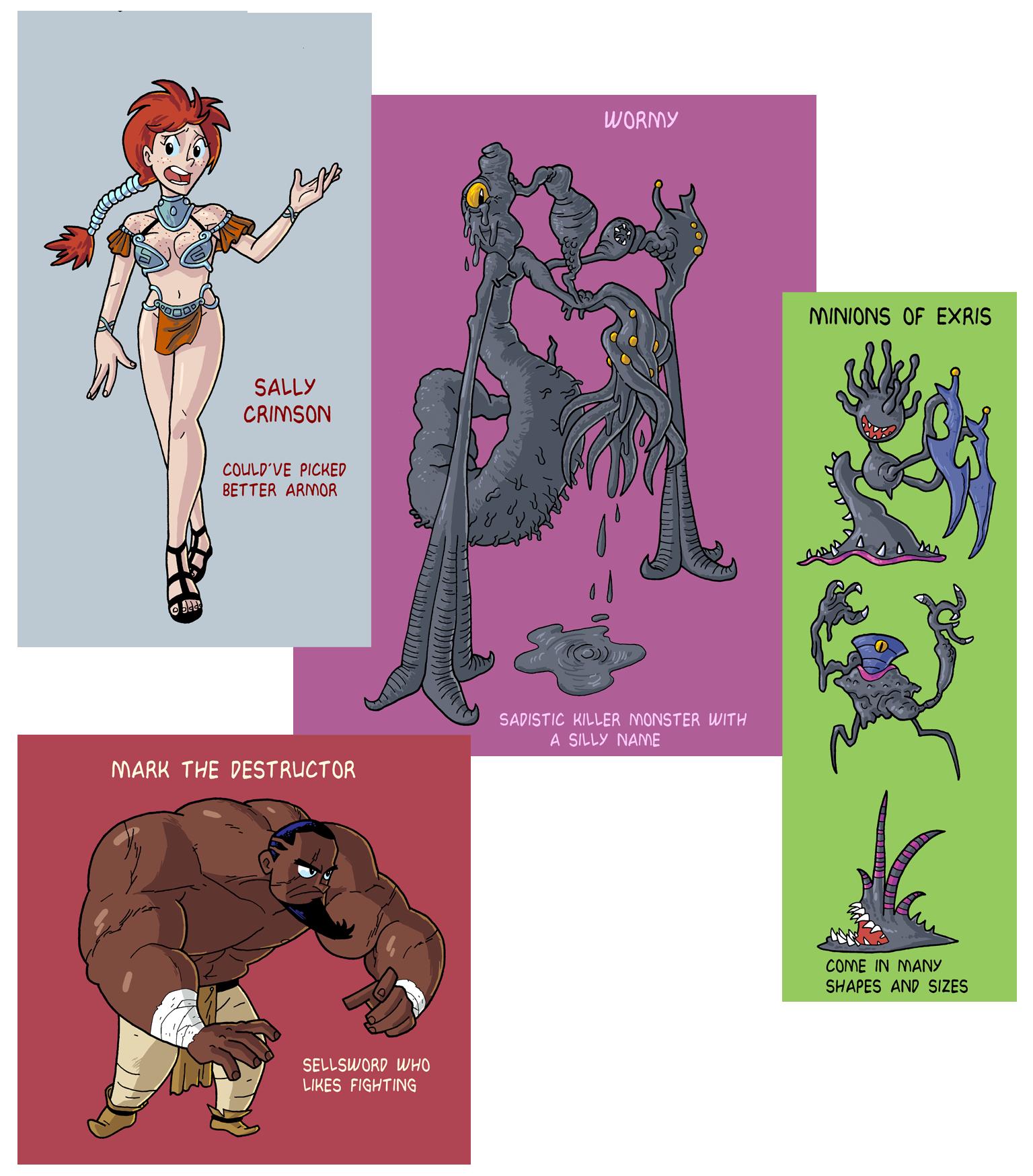 Upcoming Characters