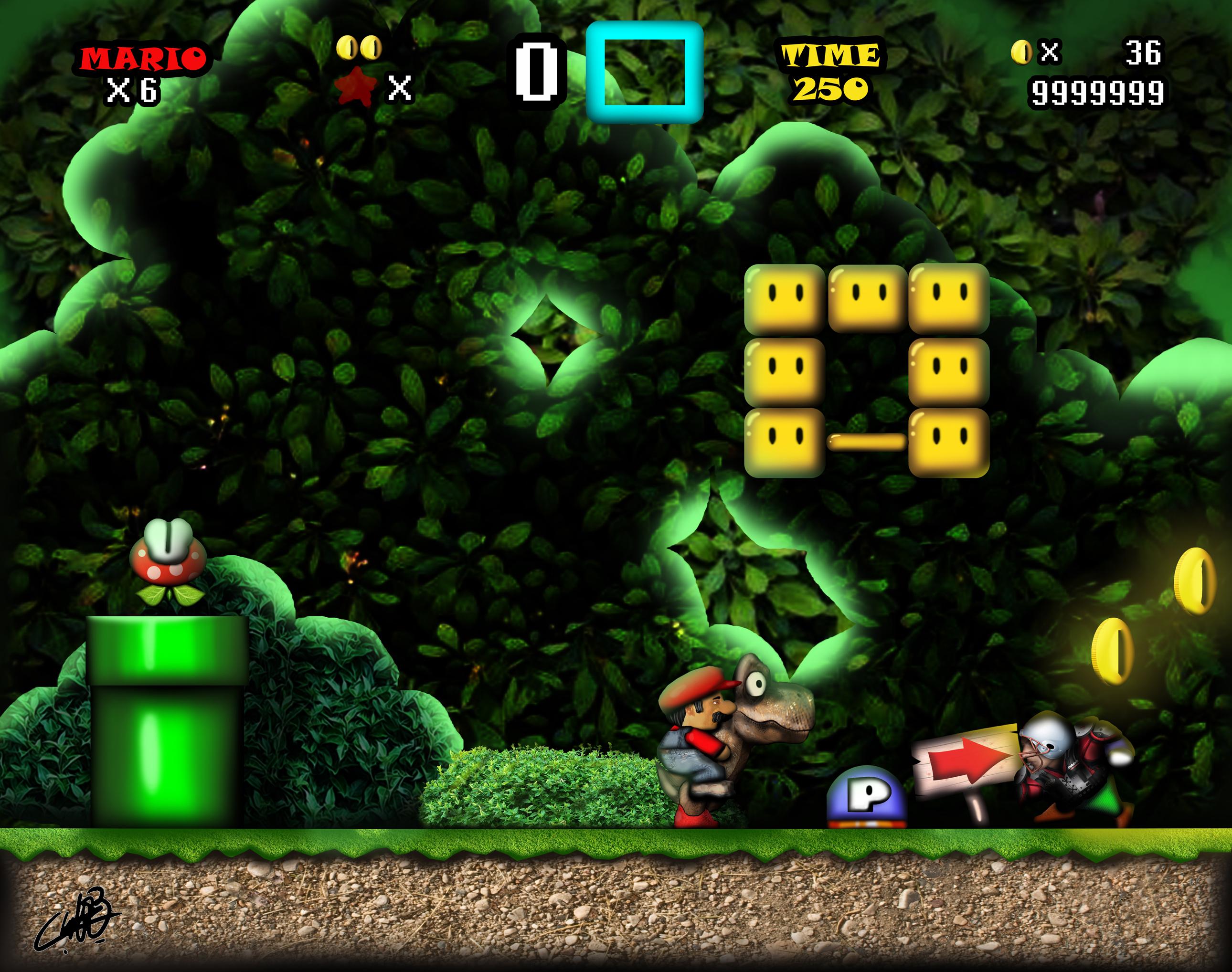 Mario Screenshot HD