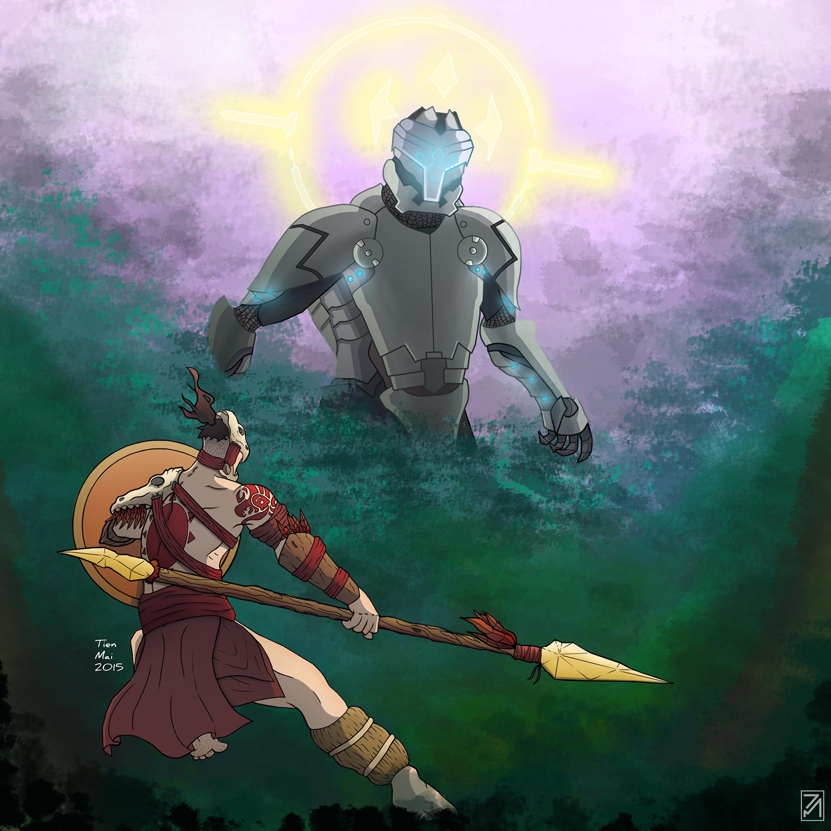 Last hope, warrior of the sun.