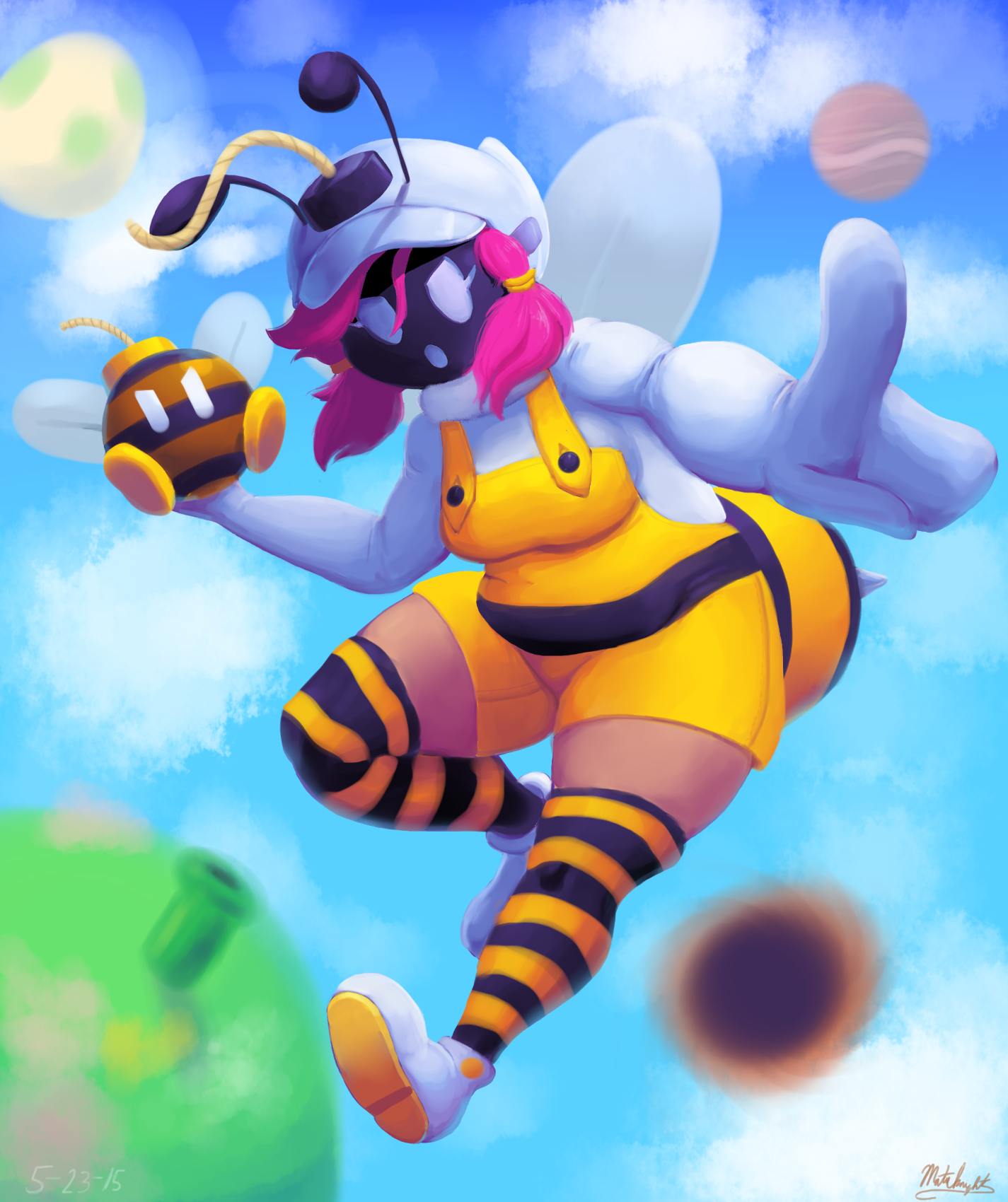 Shy-Bomb Bee