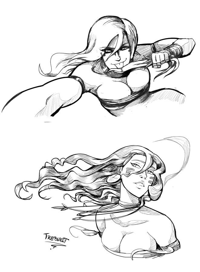 Cribal Detailed Sketches