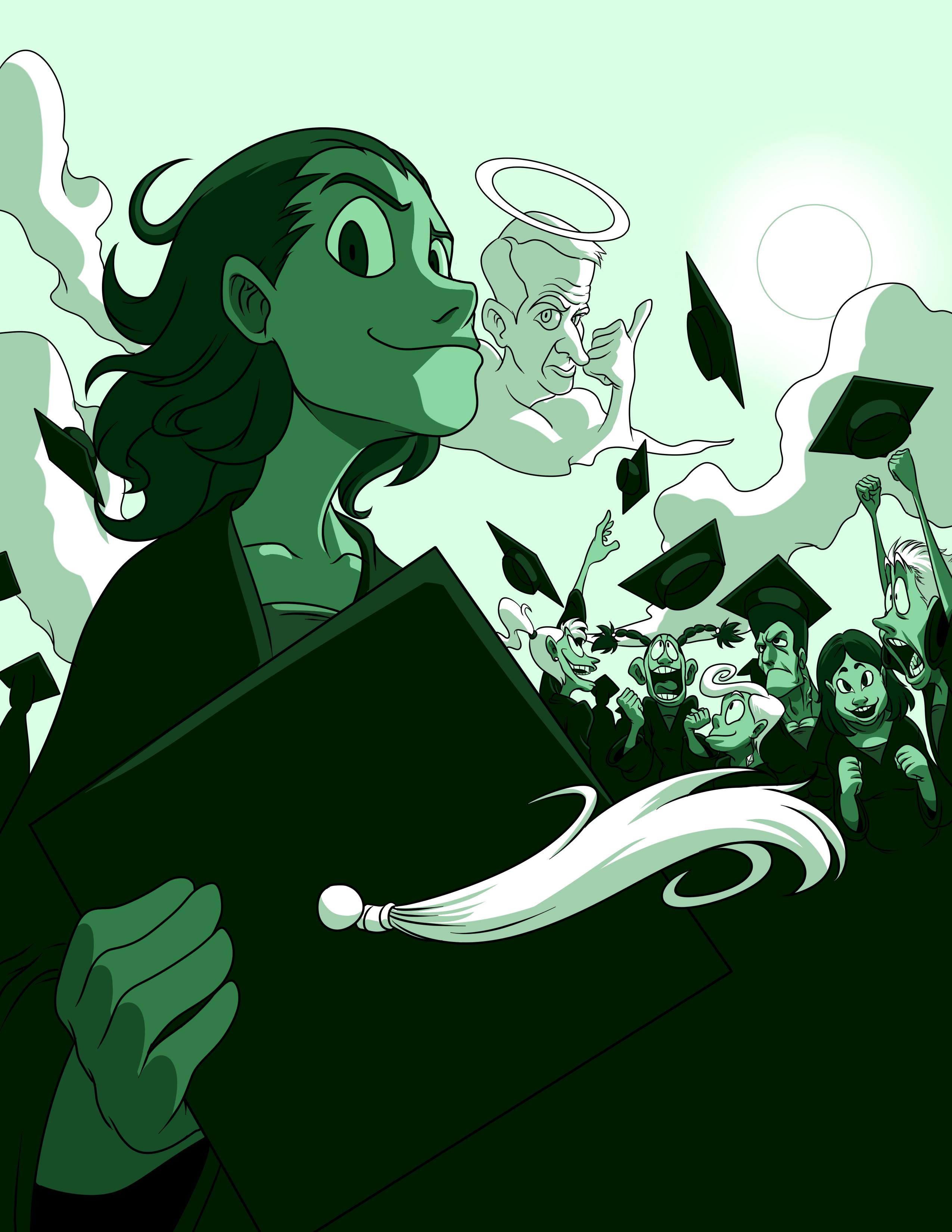 Graduation Pamphlet cover (Ver 2)