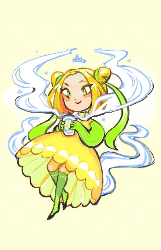 Lemony girl