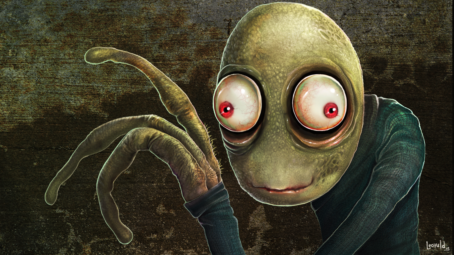 Salad Fingers Portrait