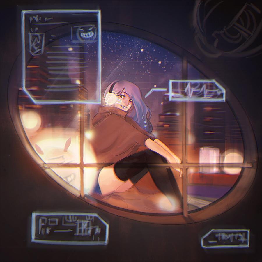 Future: Cyber girl