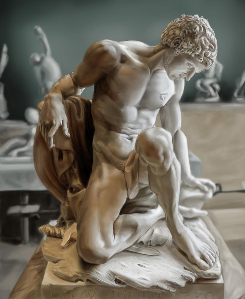 Dying Gladiator Study