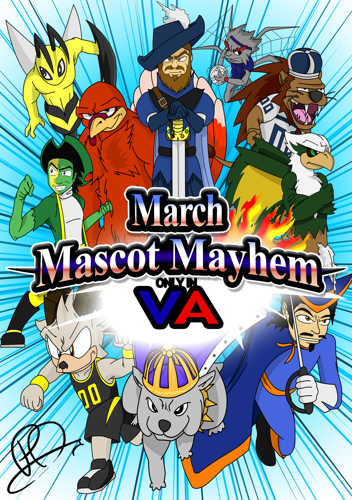 March Mascot Mayhem!
