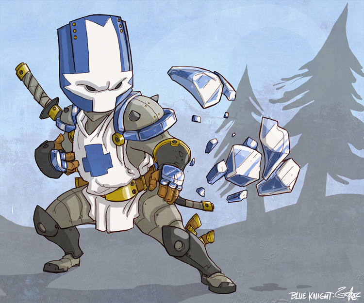 the blue knight!