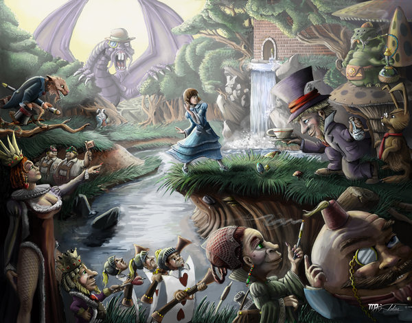 Wonderland: Controled Chaos