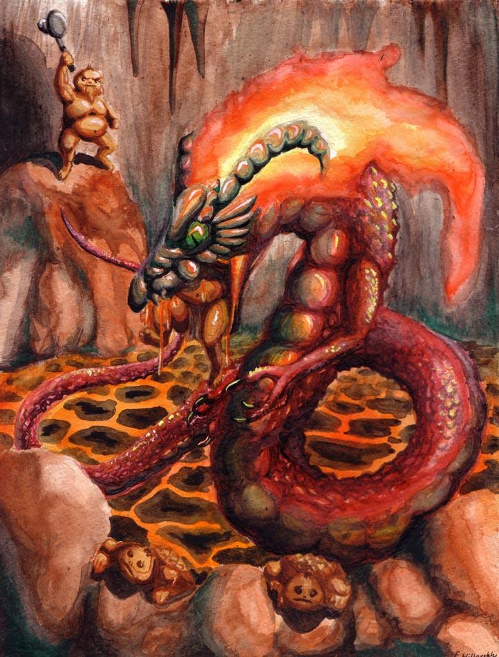 Volvagia - Lament of the Goron