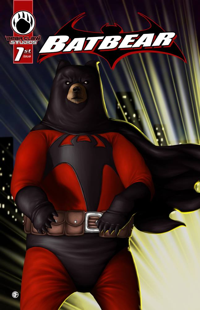 Batbear issue one cover
