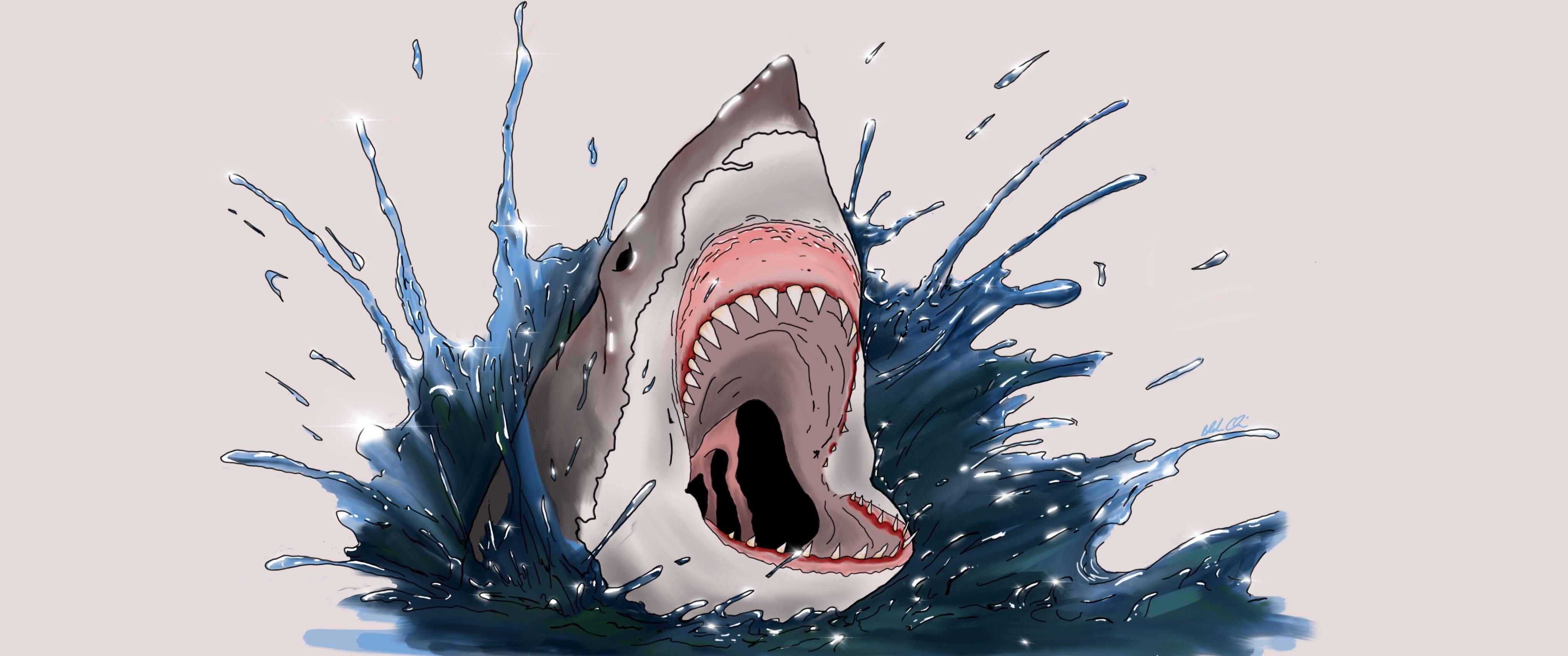 Dad, It's Shark Week!