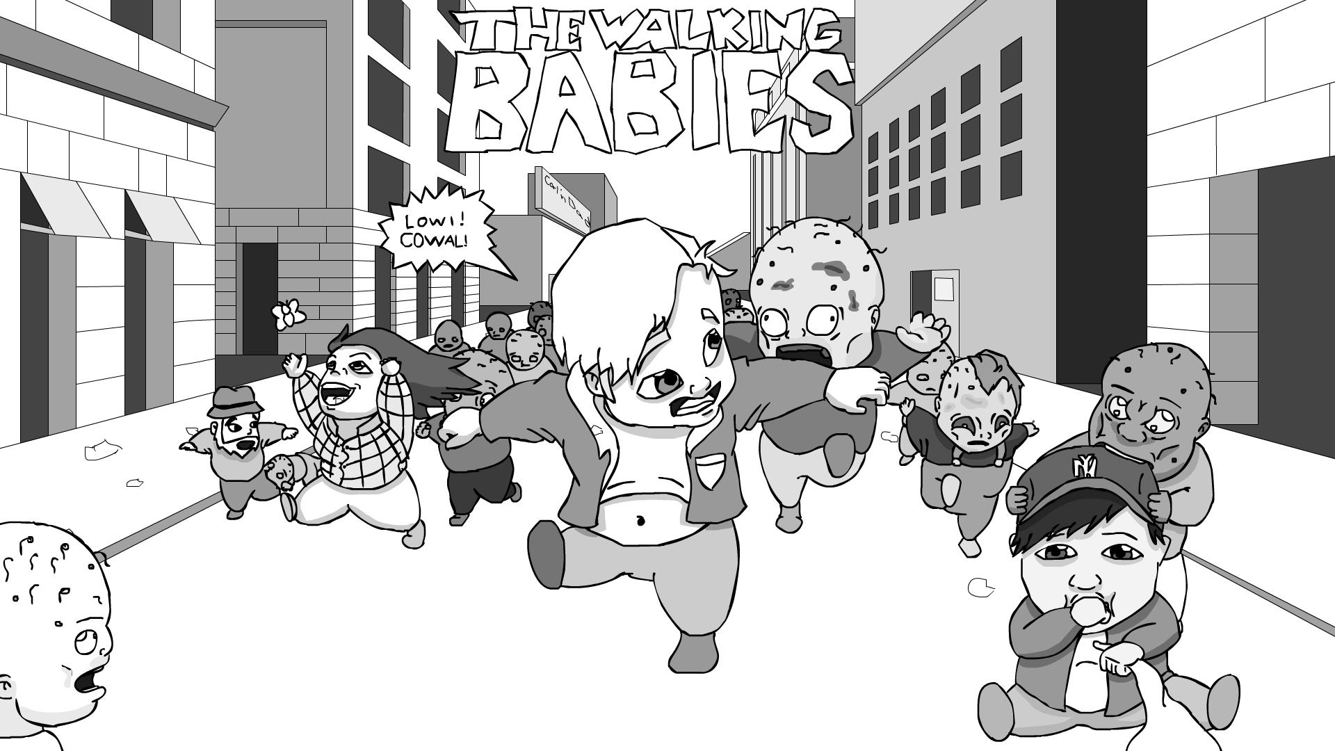 The walking babies