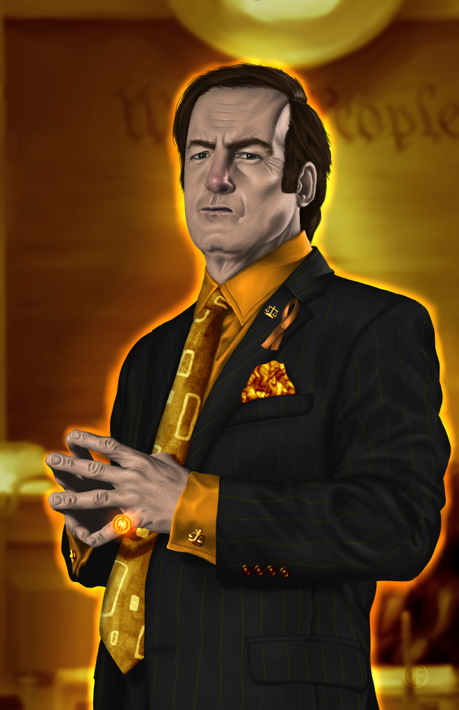 Saul Goodman - Orange Lantern