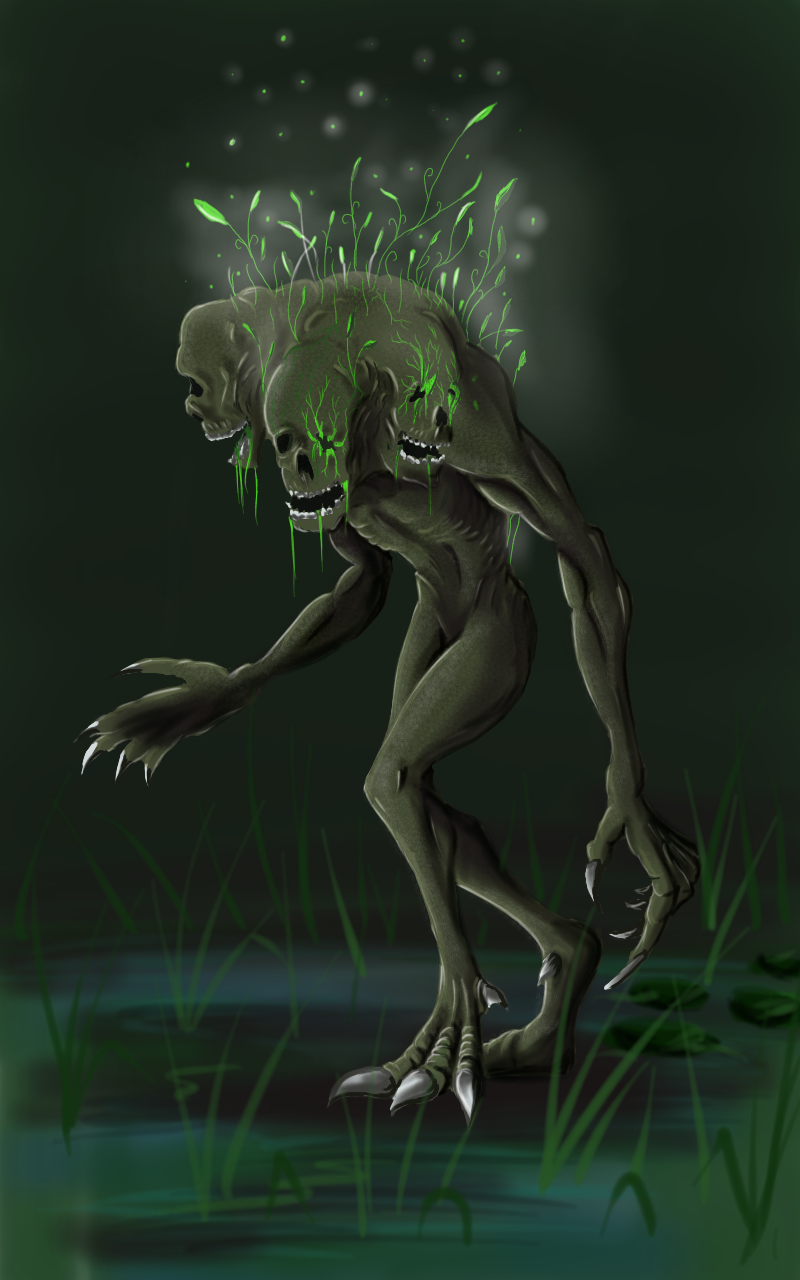 Vacuous swamp dweller