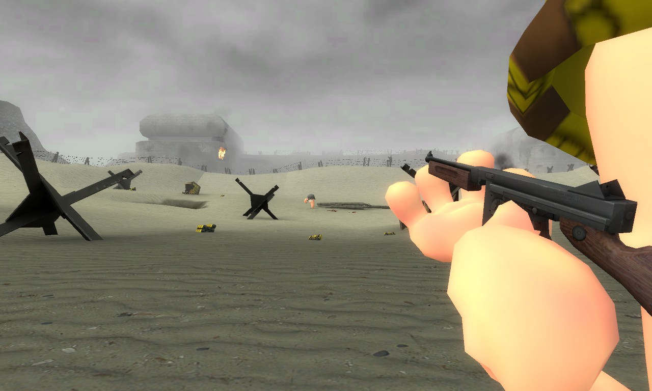 D-Day with worms