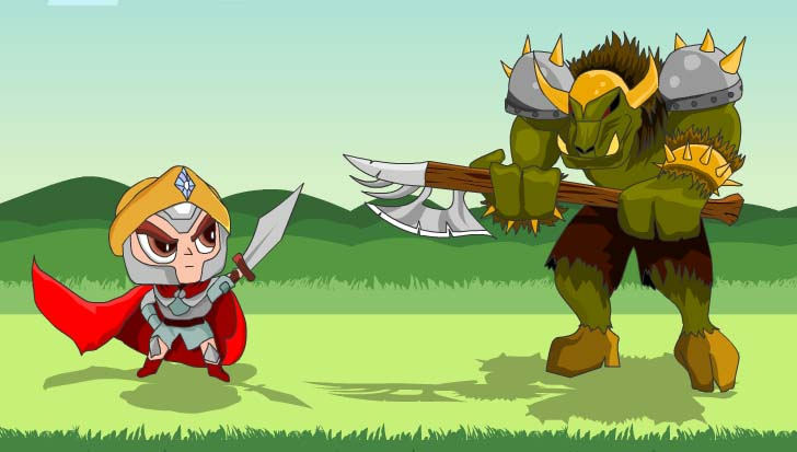 my new game portrail orc game