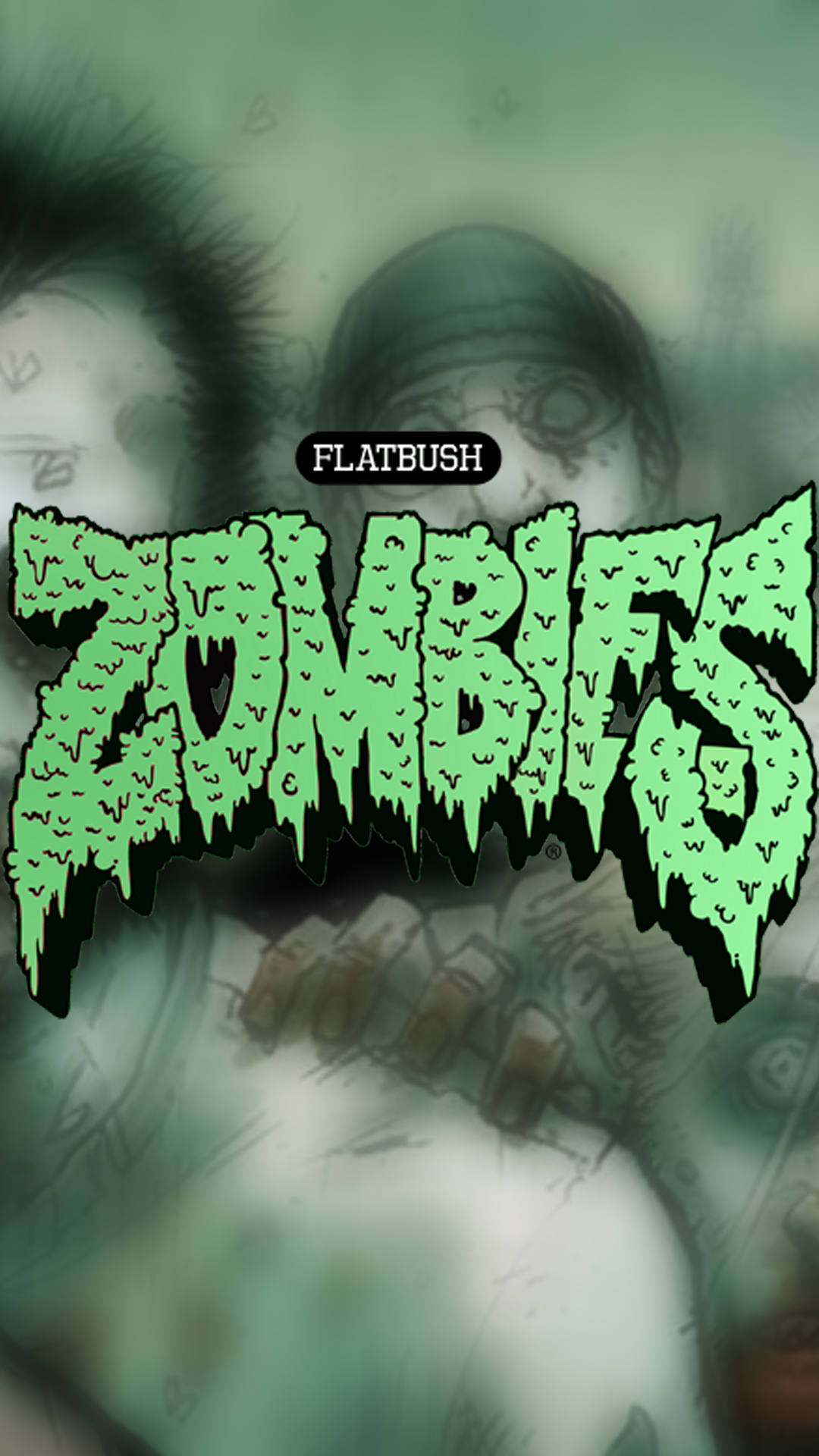 Flatbush Zombies Phone Wallpaper By Grizztin On Newgrounds