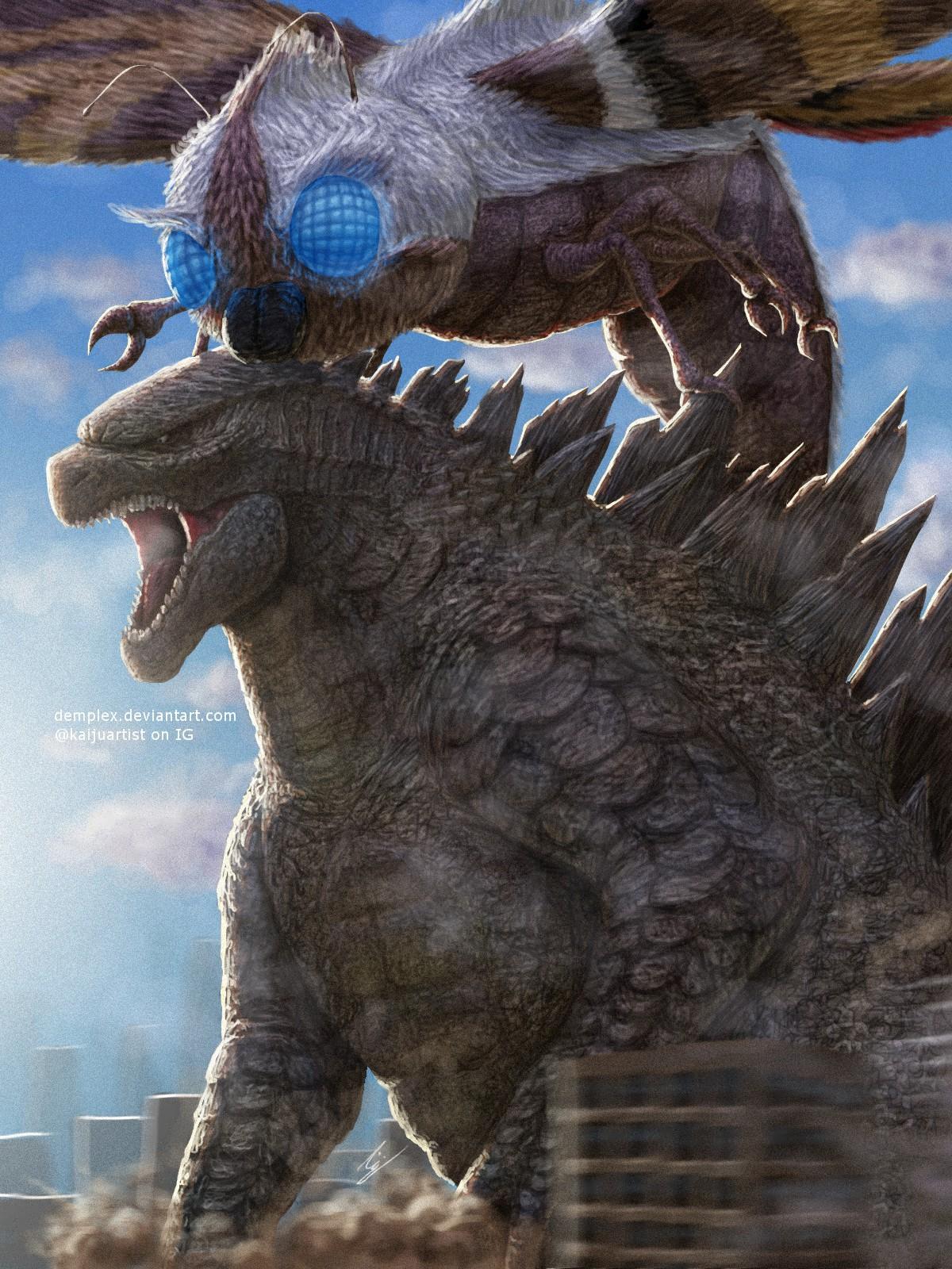 Godzilla and Mothra 2018