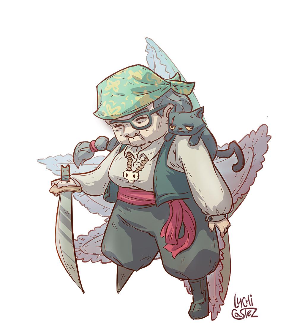 Granma pirate!