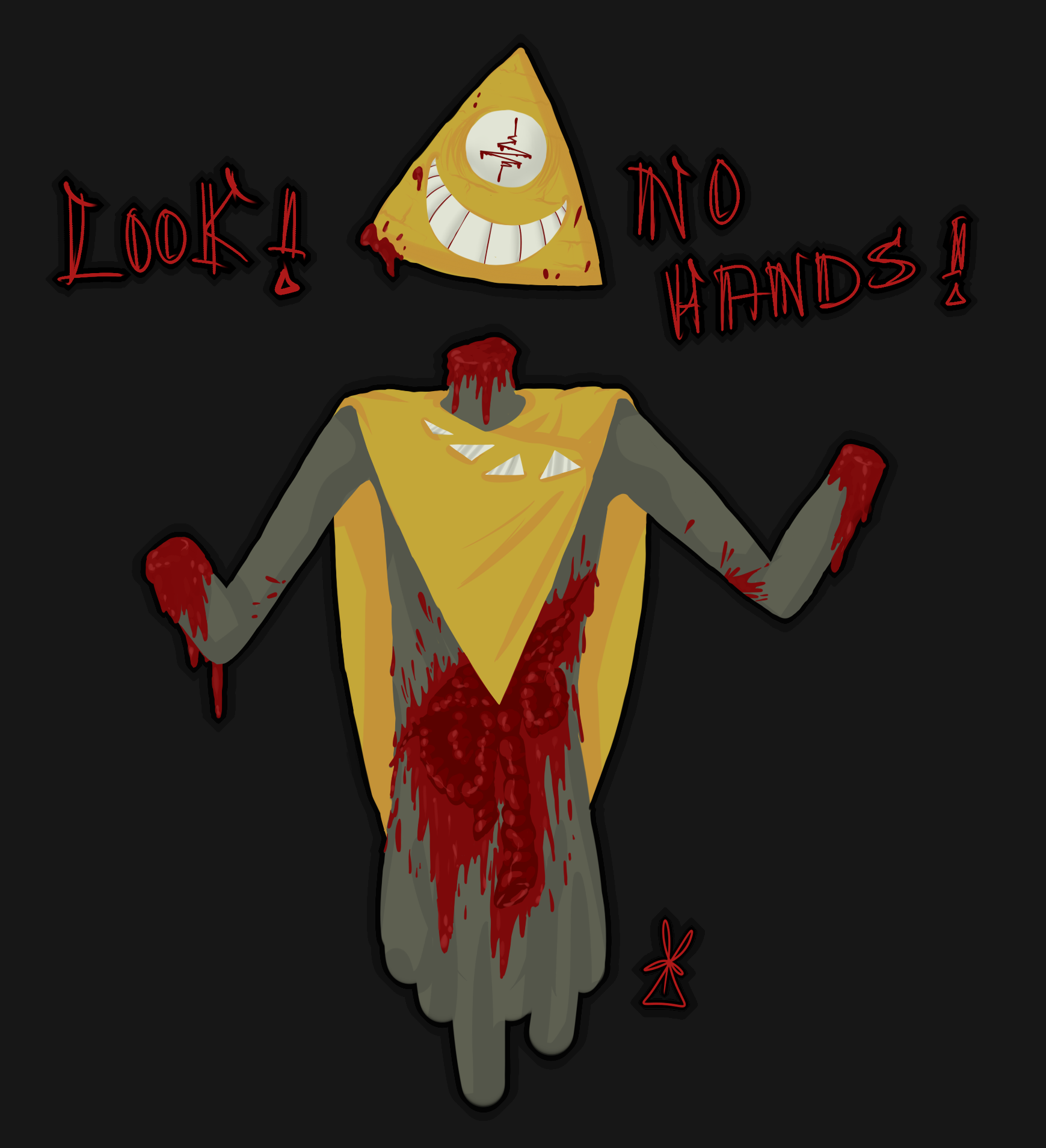Look, no hands!