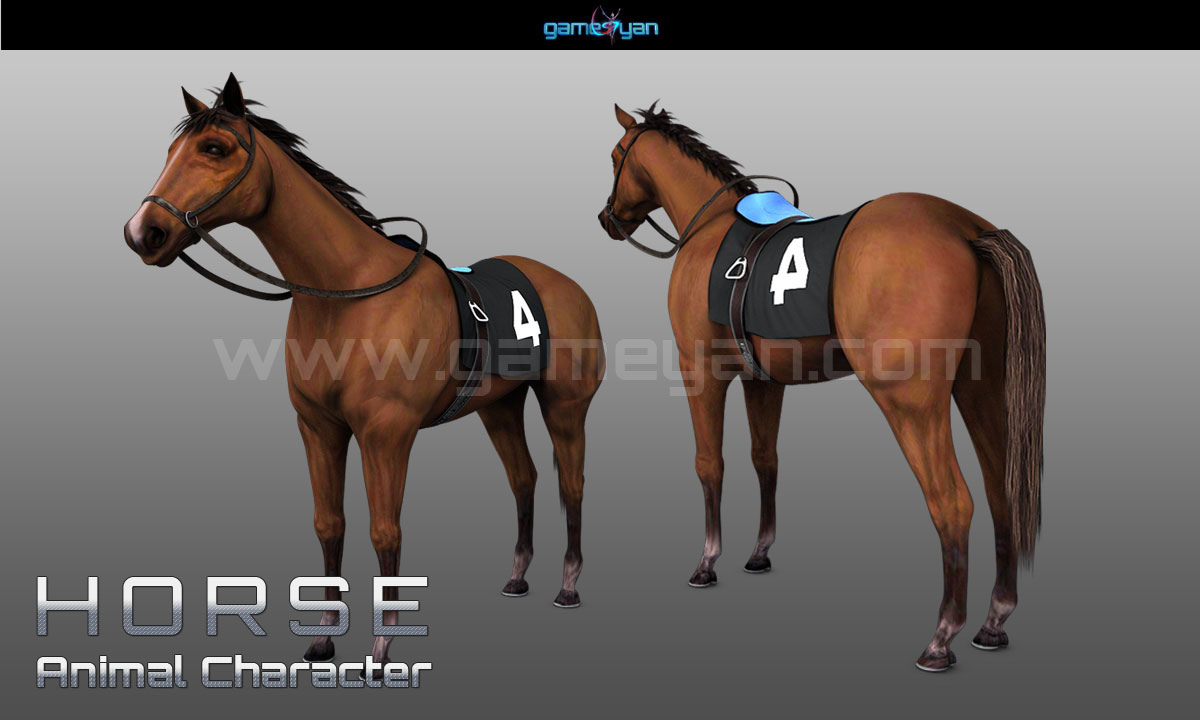 Horse Character Animation