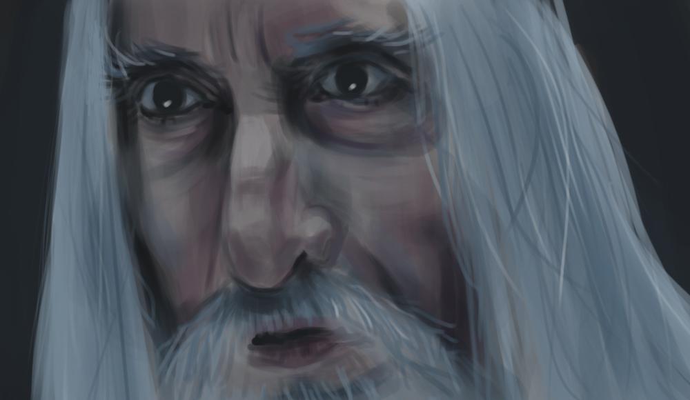 Sir Christopher Lee (Saruman)