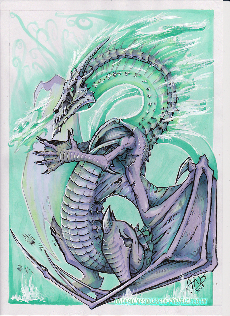 Undead dragon (for sale)