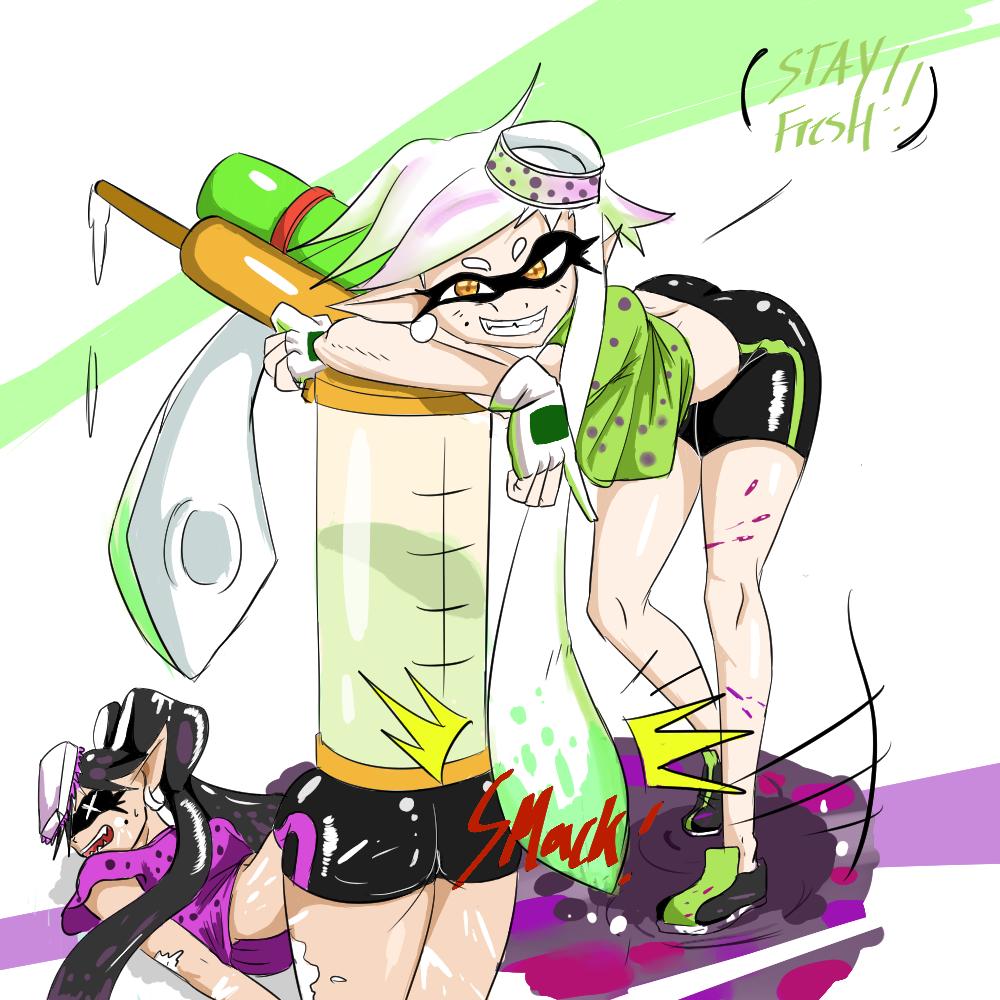 Squid Sister Rivalry