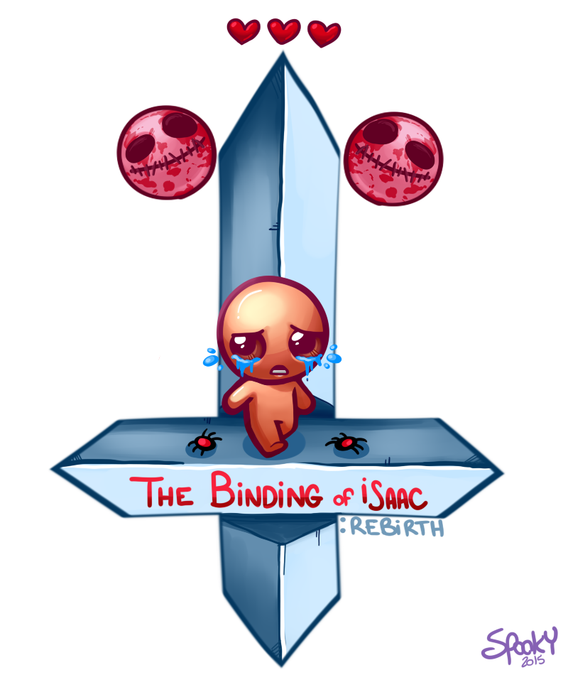 The Binding Of Isaac: Rebirth By Spookymunchkinn On Newgrounds