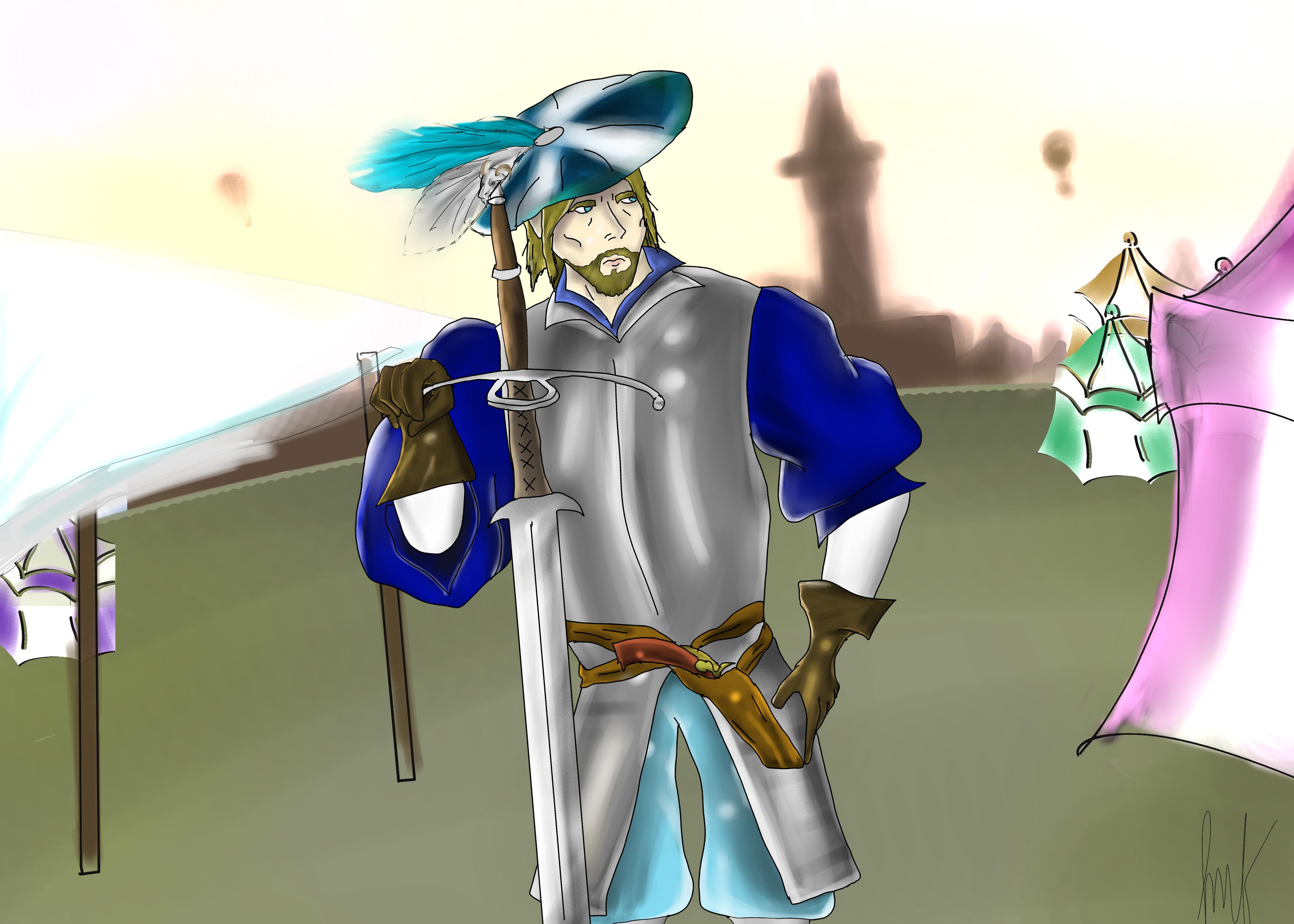 Landsknecht Mercenary