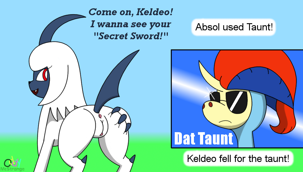 Absol Used Taunt! [NSFW]