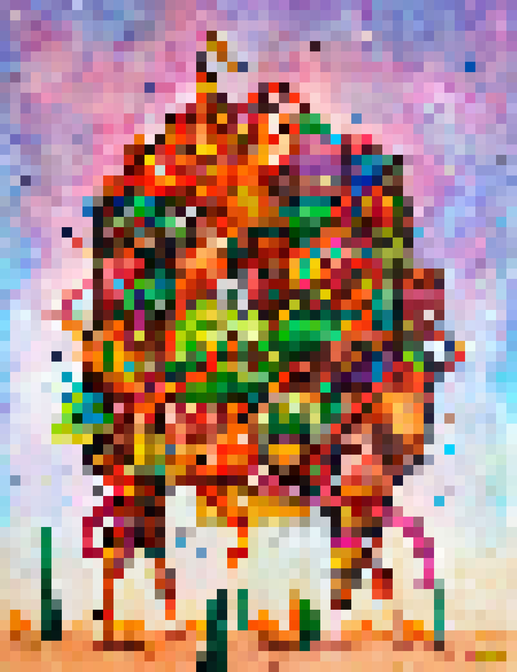Desert pixel crazy.