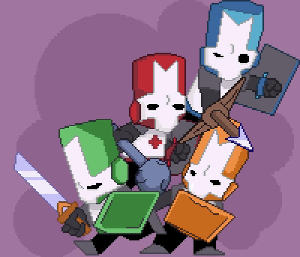 Castle Crashers Pixel Art