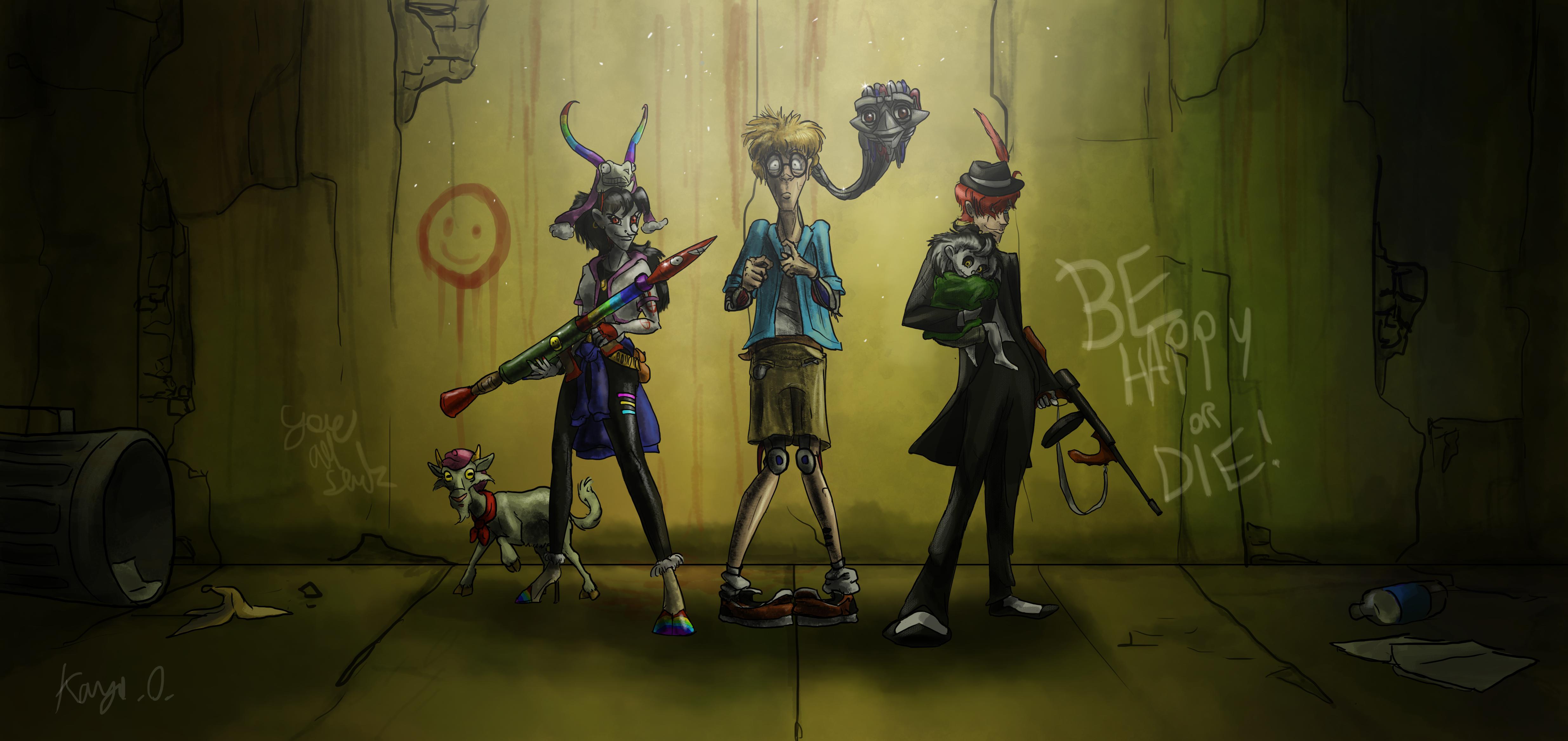 A Bunch Of Freaks.