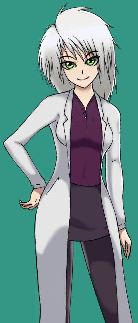 Emmy, Mad Scientist - Neutral Pose