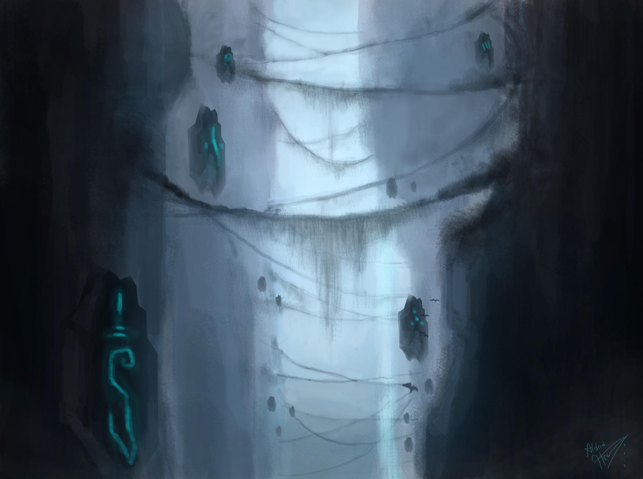 The flying runes