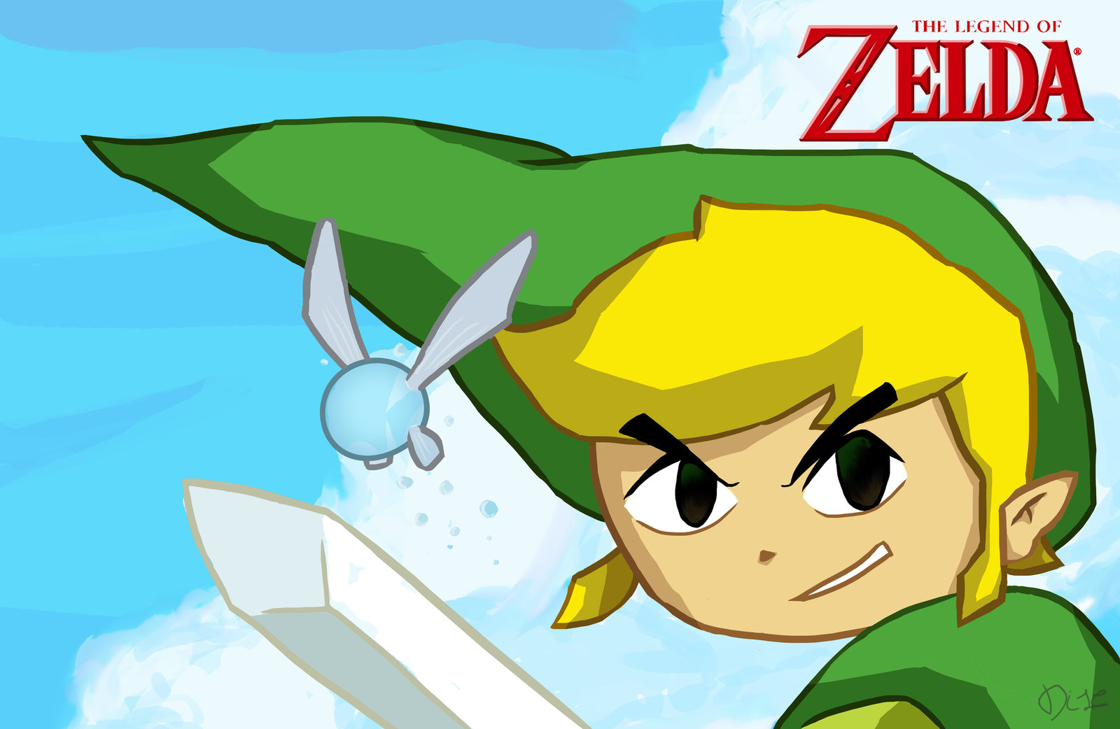 The Drawign Of Link