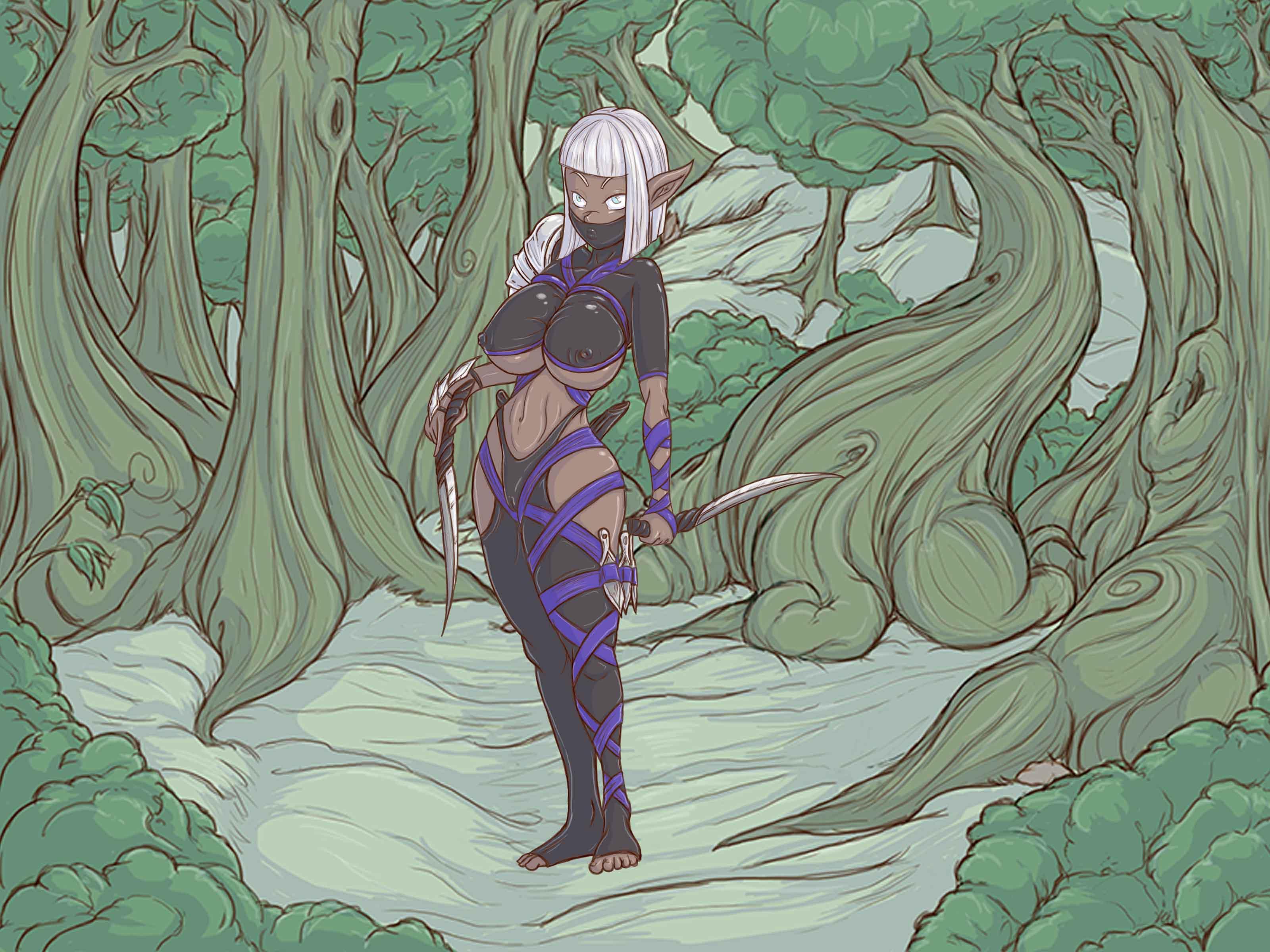 Kaeryn assassin from the mountain elfs (Sponsored by Vince77)