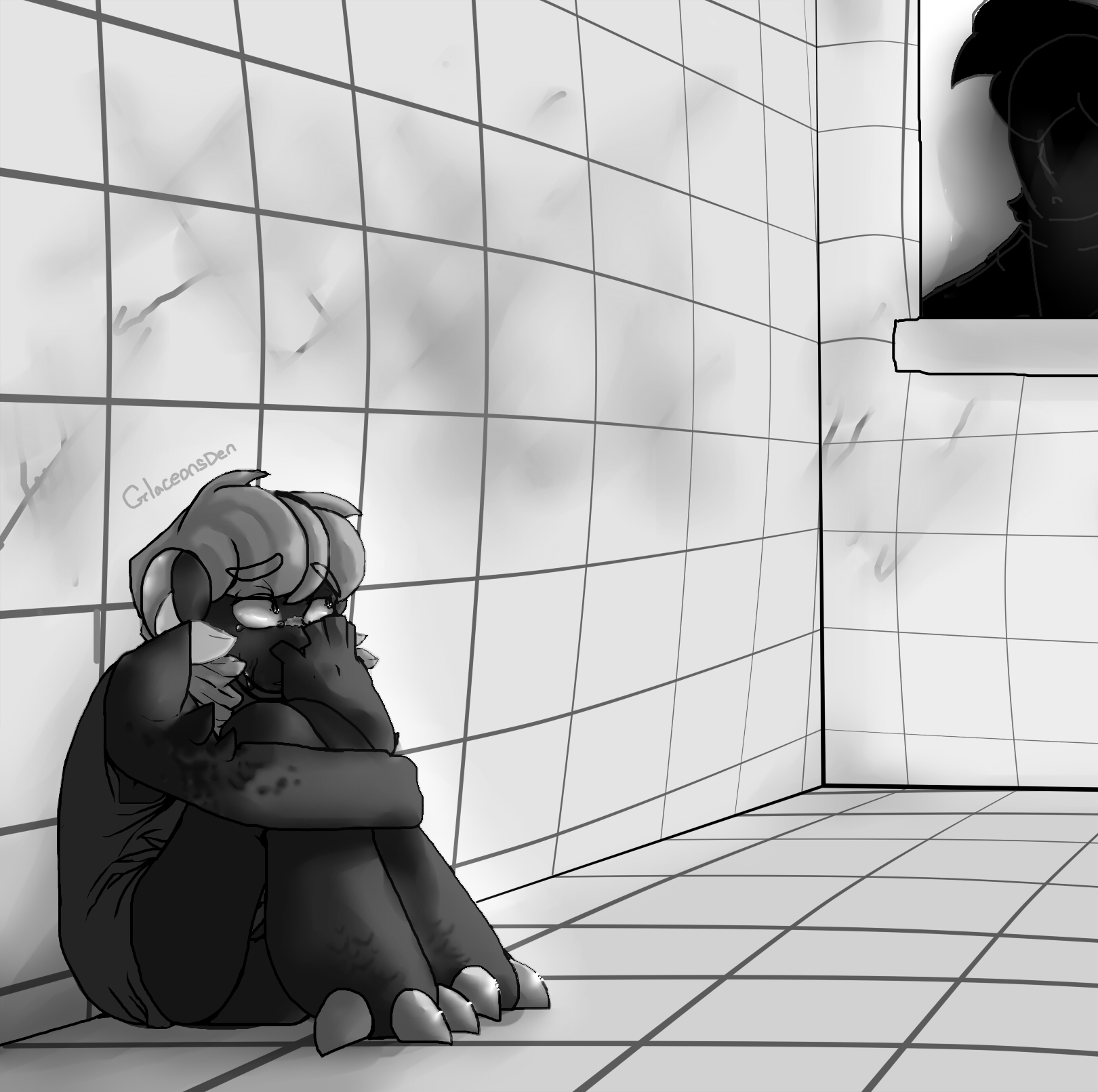 Being Trapped Without Hope is Frightening